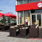 Givral cafe chọn sofa mây nhựa minh thy là nhà cung cấp.