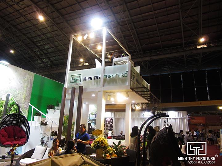 Minh Thy Furniture là lần đầu tiên đồng hành cùng Hội chợ Vifa Home 2018