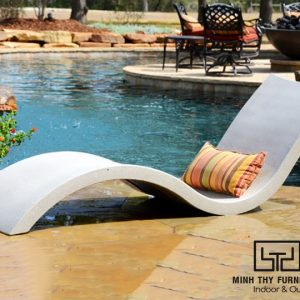 giường nằm hồ bơi composite MTC402